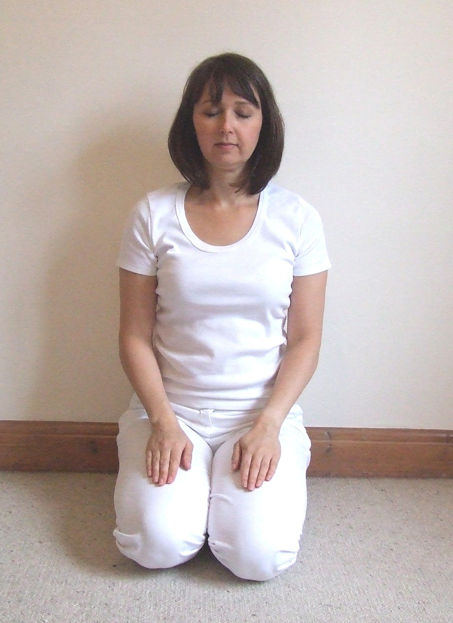 Japanese sitting position for meditation